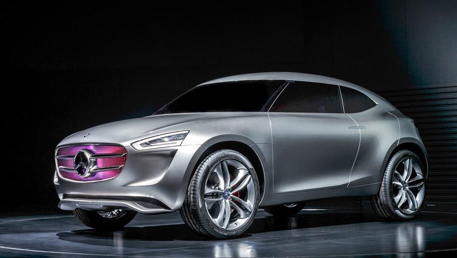 Mercedes g-code,Mercedes concept. Разработкой концепта G-Code занимались специалисты шанхайской дизайн-студии Mercedes совместно с сотрудниками головного дизайнерского отдела в Германии.