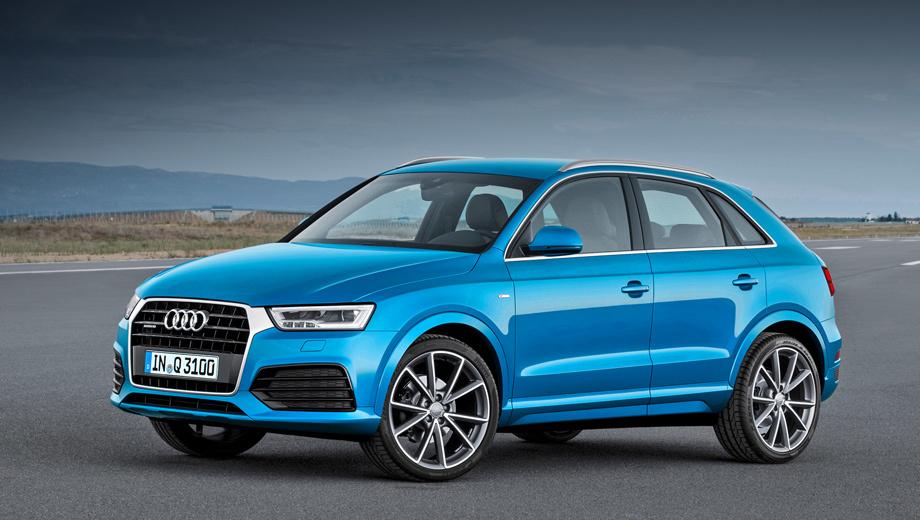 Audi q3,Audi q3 rs. В продажу в Европе модернизированные кроссоверы поступят в феврале будущего года.