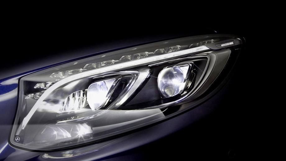 Mercedes e. Это не впервые, когда блок фары головного света нового Мерседеса немцы показывают раньше самой модели.