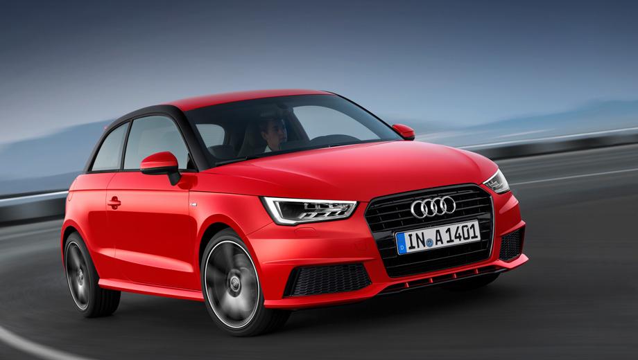 Audi a1. Продажи обновлённых хэтчей стартуют в Европе только весной будущего года. Значит, в Россию автомобили попадут позже.