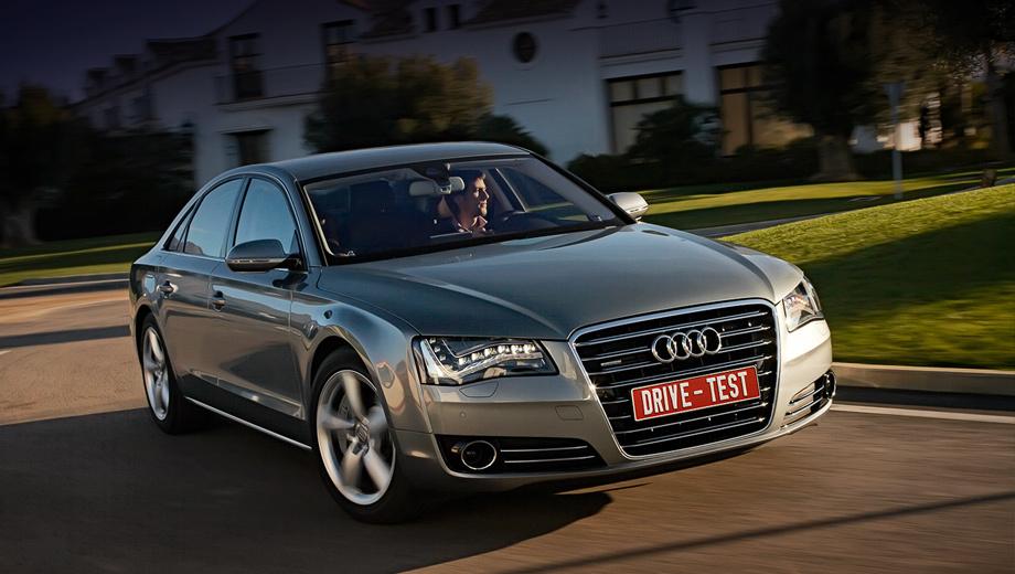 Audi a8. Узнаваемость отдельных моделей Audi давно принесена в жертву узнаваемости бренда в целом. Даже поездив на A8, я путаю издалека флагман и A4.