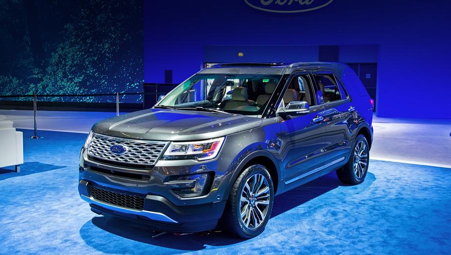 Ford explorer. В 2014 году фирма Ford празднует 25-летие паркетника Explorer. Нынешний рестайлинг модели приурочен именно к этому событию.