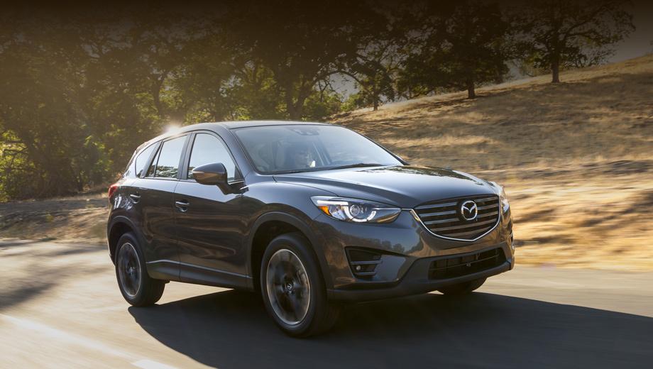 Mazda cx-5. Автомобиль, представленный на шоу в Лос-Анджелесе, поступит в продажу в следующем году. В Америке японцы показали версию для местного рынка, но «европейца» модернизируют по такой же схеме.