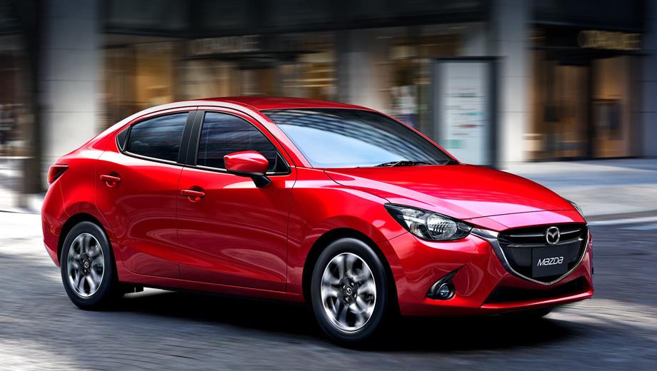 Mazda 2,Mazda 2 sedan. Посмотрим, как пойдут дела у седана. Что до хэтчбека Mazda2, то он уже довольно успешен. В октябре модель была признана «Автомобилем года» в Японии, а на днях получила престижную немецкую награду «Золотой руль».