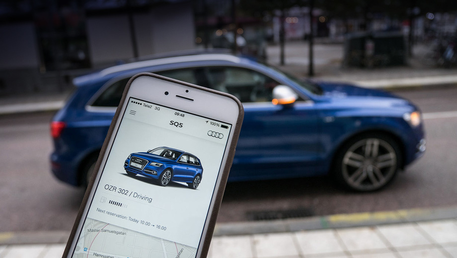 Audi unite,Audi select. Наряду с двумя европейскими программами кар-шейринга компания Audi в течение двух месяцев запустит пару американских, которые будут отличаться от предложений для Старого Света. Сейчас в США совместно используют машины около миллиона человек. По прогнозам, к 2020 году их число вырастет в четыре раза.