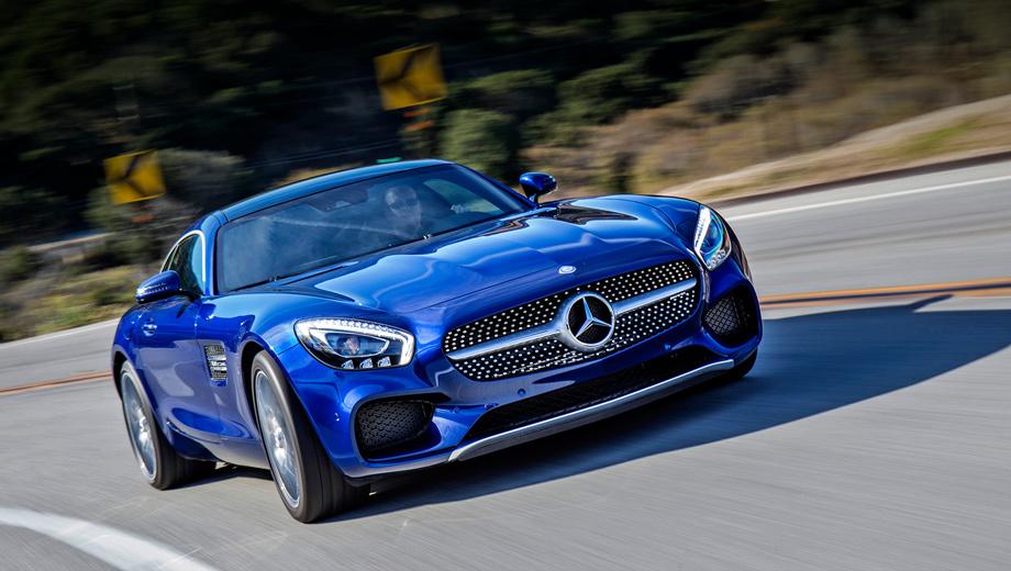 Mercedes amg gt. Разработан Mercedes-AMG GT в Аффальтербахе, но, как и в случае с суперкаром SLS, в родовом гнезде AMG для него делают только двигатели. Сборкой спорткара занят мерседесовский завод в Зиндельфингене. Версия GT S появится в России в феврале-марте, GT — в августе.