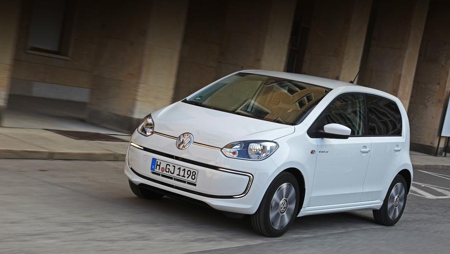Volkswagen up,Volkswagen e-up,Volkswagen e-load up. На концепте инженеры заменили задние стёкла заглушками, а на серийном фургоне просто затонировали.