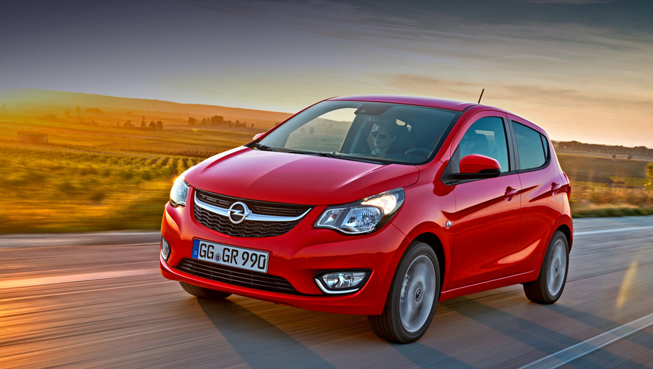 Opel karl. Самый маленький Opel получил десять расцветок кузова и целый набор колёсных дисков — вплоть до 16-дюймовых.