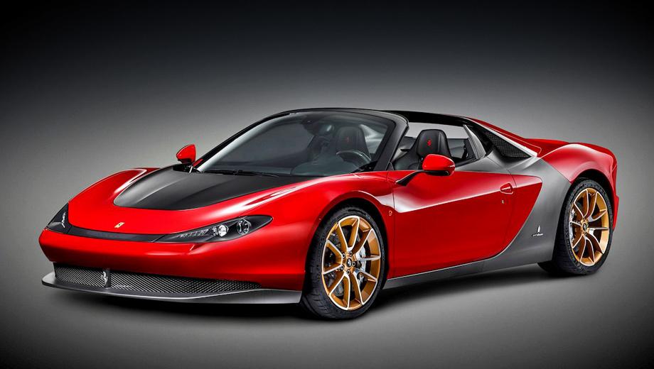 Ferrari 458 italia. Всего будет выпущено шесть родстеров Pininfarina Sergio. Их цена не разглашается, однако известно, что все они уже куплены.