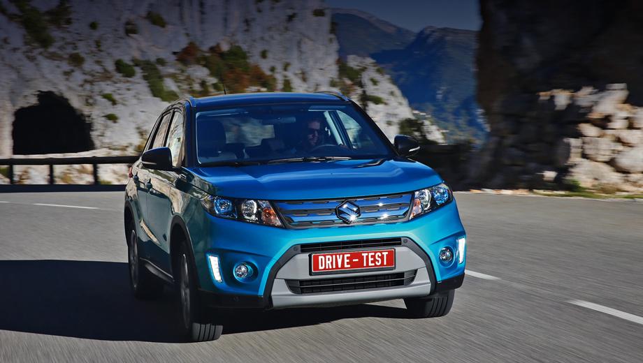 Suzuki vitara. С 1980-х годов марка Suzuki пестовала компактные внедорожники. Но неторёная дорожка завела не туда: отбросив приставку Grand, Vitara отправится вдогонку за конкурентами по гладкому асфальту.