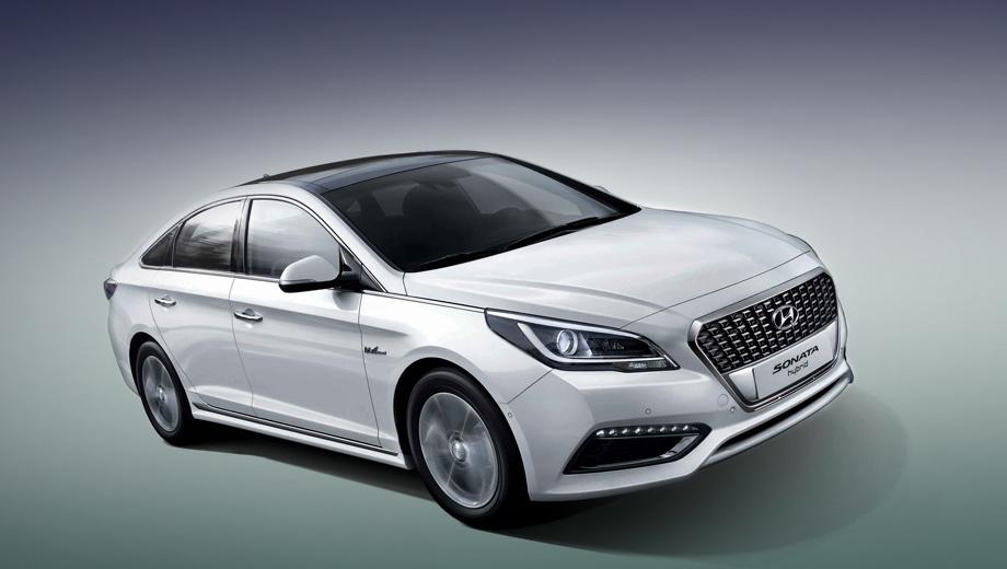 Hyundai sonata,Hyundai sonata hybrid. Модель Hyundai Sonata Hybrid может двигаться или с помощью бензинового двигателя, или посредством электромотора, или задействуя оба агрегата.