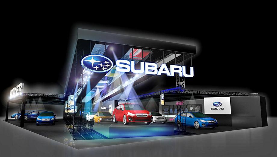 Subaru legacy,Subaru xv,Subaru levorg. Японская пресса строго следует корпоративной этике и называет грядущее шоу Tokyo Auto Salon 2015 with NAPAC. Спонсором выступил крупный продавец запчастей.