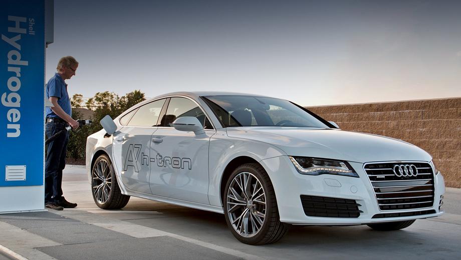 Audi rs7,Audi rs6. Пятидверка на топливных элементах A7 Sportback h-tron quattro — последний пример роста возможностей компании. Директор по техническому развитию Ульрих Хакенберг на днях подтвердил: «Мы можем запустить модель на поток сразу же, как только это станет оправдано развитием водородной инфраструктуры».