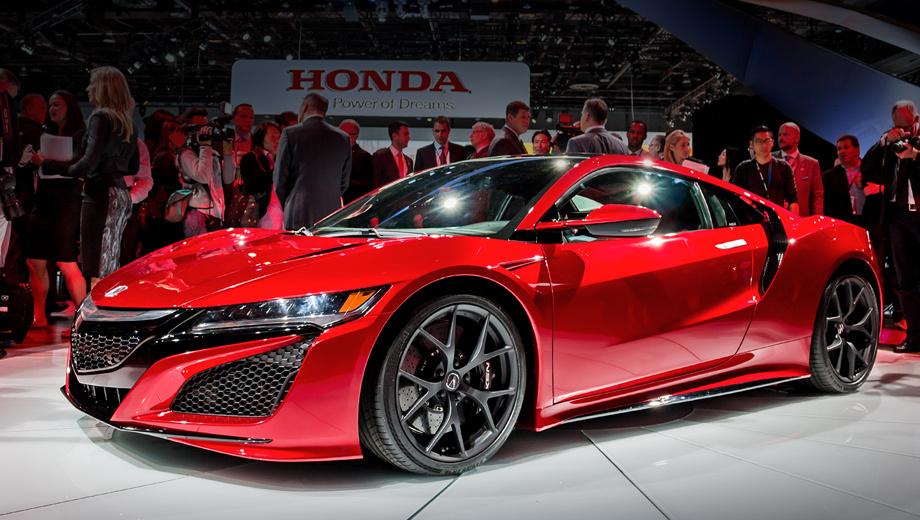Acura nsx. За дизайн и техническую начинку спорткара Acura NSX отвечал центр разработок компании Honda в Огайо. В этом же штате автомобили будут собирать руками сотни высококвалифицированных работников.