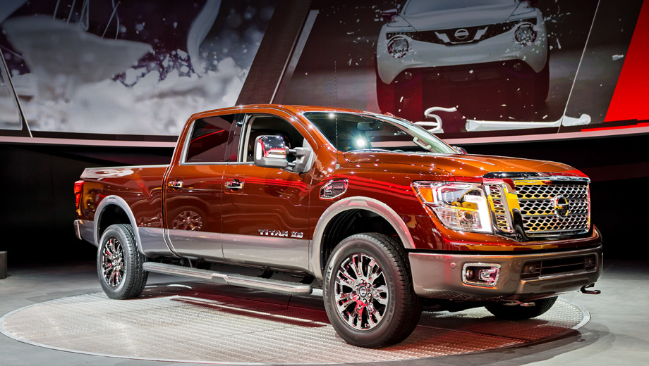 Nissan titan. Разработкой внешности второго поколения Титана занималась калифорнийская дизайн-студия Nissan из Сан-Диего.