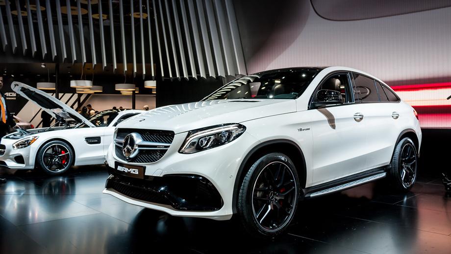 Mercedes gle,Mercedes gle amg,Mercedes gle coupe,Mercedes gle coupe amg. Помимо версии S, в продаже появится и базовая модификация. Она получит битурбомотор V8 5.5, дефорсированный с 585 сил и 760 Н•м до 557 л.с. и 700 ньютон-метров.