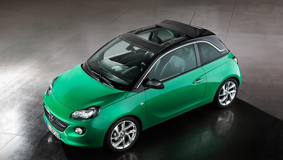 Opel adam rocks,Opel adam. В Европе за Adam со сдвижной крышей попросят минимум 14 990 евро.