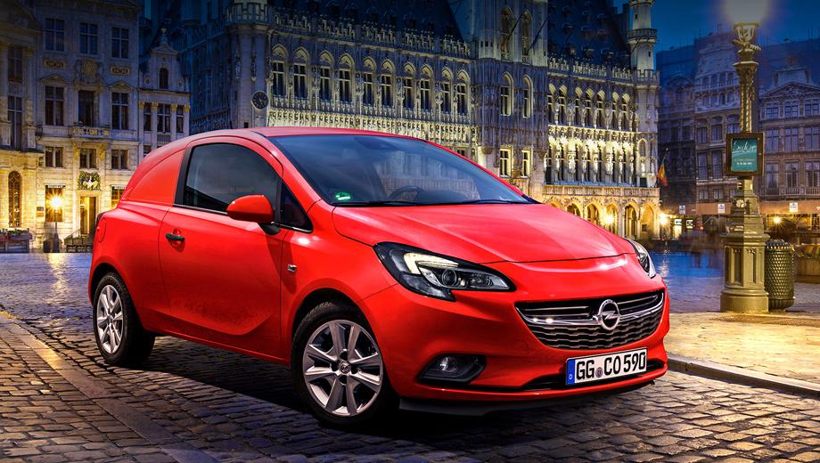 Opel corsa,Opel corsa van. В Старом Свете в продажу новинка поступит уже в первом квартале этого года.