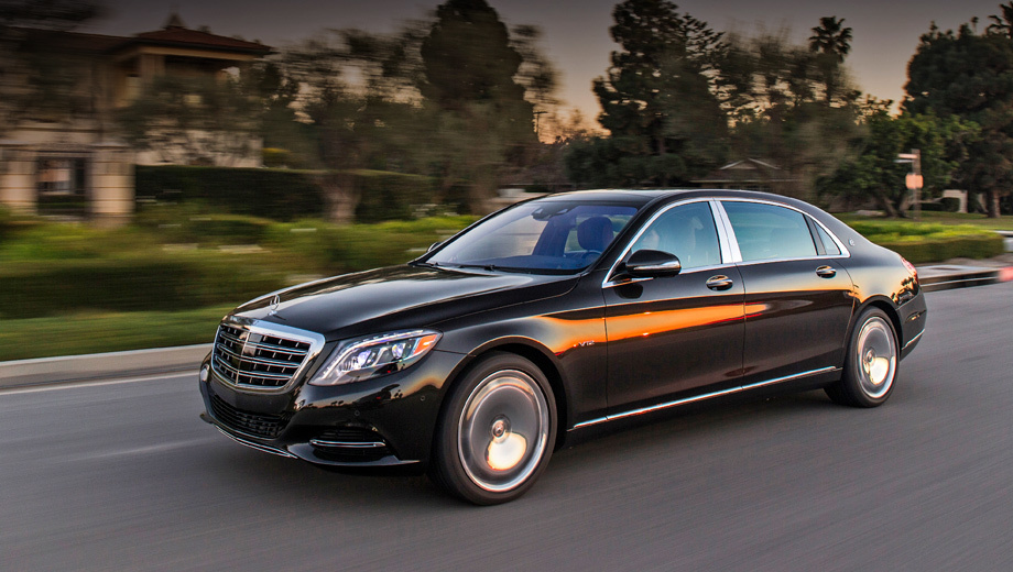 Отличаем Mercedes-Maybach S 600 от обычного «шестисотого ...