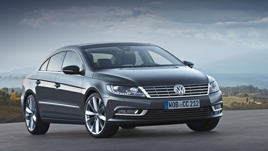 Volkswagen passat cc,Volkswagen cc. Нынешний Volkswagen CC (на фото) родился в 2008-м и внешне не менялся с 2011 года, так что публика вправе ждать разительных перемен.