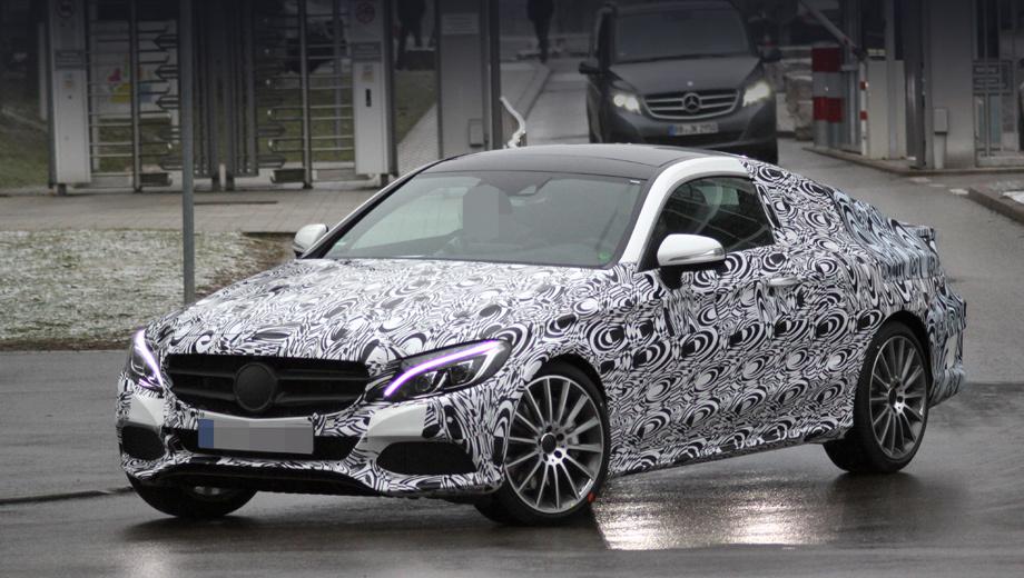 Mercedes c,Mercedes c coupe,Mercedes glc. Нос купе очень похож на нос седана, но отличия начинаются задолго до средней стойки. Посмотрите хотя бы на крепление наружных зеркал.