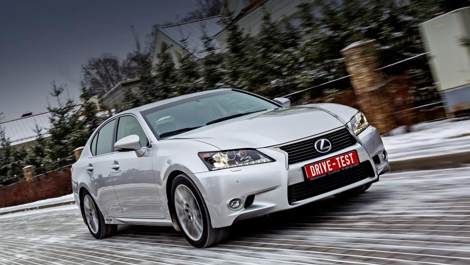 Заряженный Lexus GS оказался в России дороже конкурентов