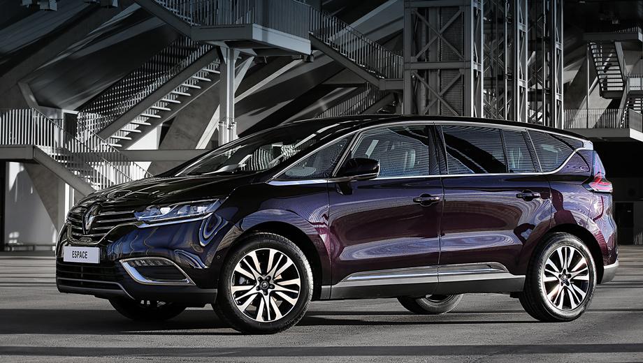 Renault espace,Renault laguna,Renault kadjar. Напомним, что пятое поколение минивэна Renault Espace дебютировало осенью 2014-го на Парижcком автошоу. В продажу новинка поступит в этом году.