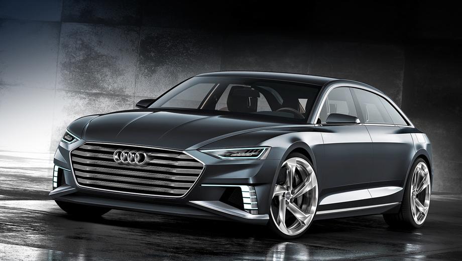 Audi prologue,Audi prologue avant. Как и в случае с предыдущим Прологом, разработкой нового шоу-кара занимался шеф-дизайнер Марк Лихте, который занял этот пост год назад.