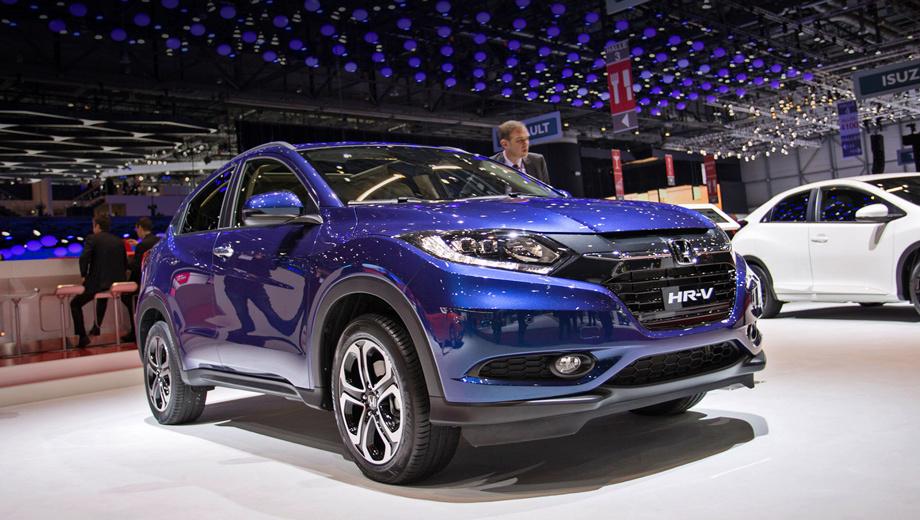 Honda hr-v. Европейский вариант компактного паркетника внешне повторяет японский.