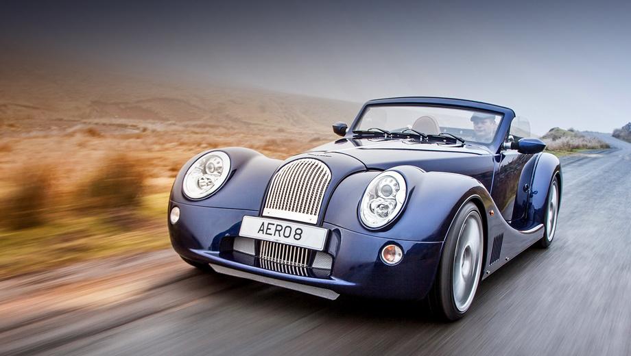 Morgan aero 8. Движущая сила Моргана — такая же классика, как его внешний вид или силовая конструкция: немецкий концерн не использует атмосферный мотор BMW N62B48 уже с 2010 года.
