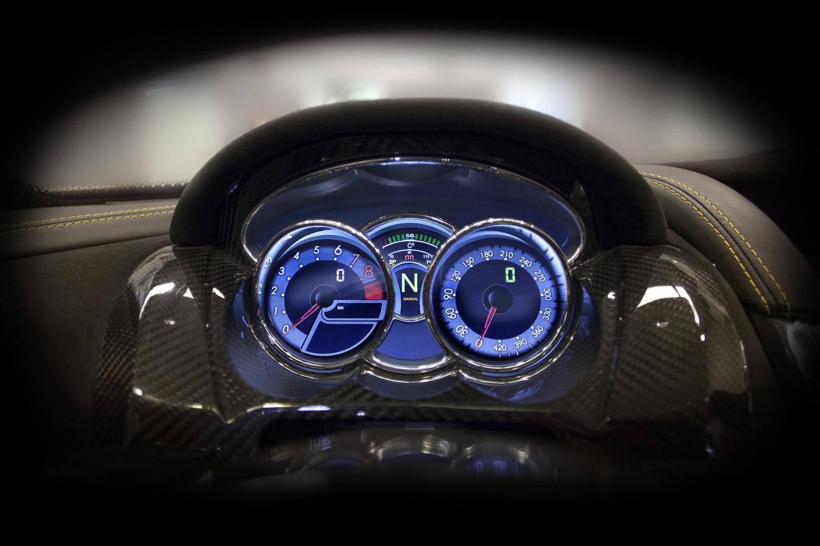 Суперкар GTA Spano – дитя Валенсии   Автомобиль как