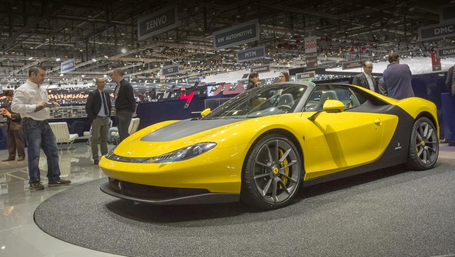 Ferrari sergio. Серийной новинку назвать сложно: будет сделано всего шесть таких машин, и каждая — со своим оригинальным цветом кузова и интерьера. Все автомобили уже проданы.