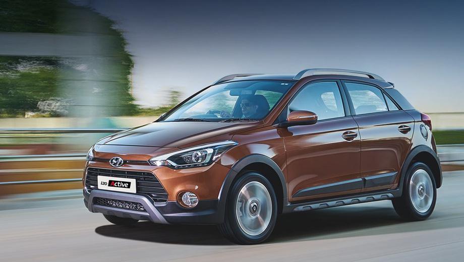 Hyundai i20 active,Hyundai i20. На европейском рынке новинка составит конкуренцию модели Volkswagen CrossPolo.