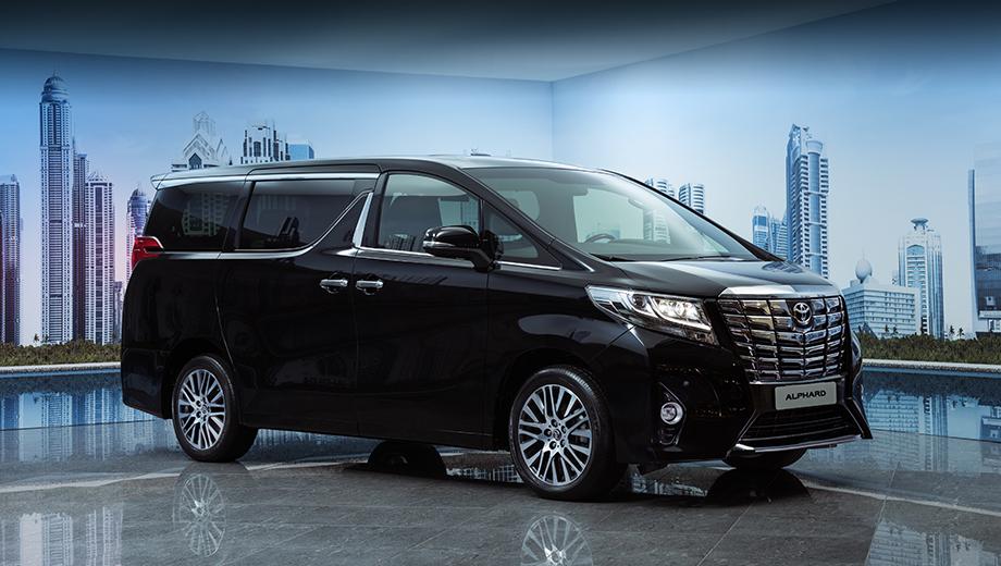 Toyota alphard. Цены на Тойоту Alphard варьируются от 2 998 000 до 3 493 000 рублей. Для справки, Chrysler Grand Voyager в единственном исполнении стоит 3 149 000 рублей, а Mercedes V-класса в зависимости от версии — от 2 530 000 до 3 923 000 рублей.
