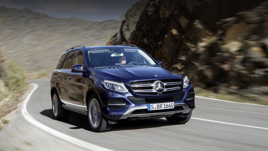 Кроссоверу Mercedes-Benz GLE придали больше разнообразия — ДРАЙВ