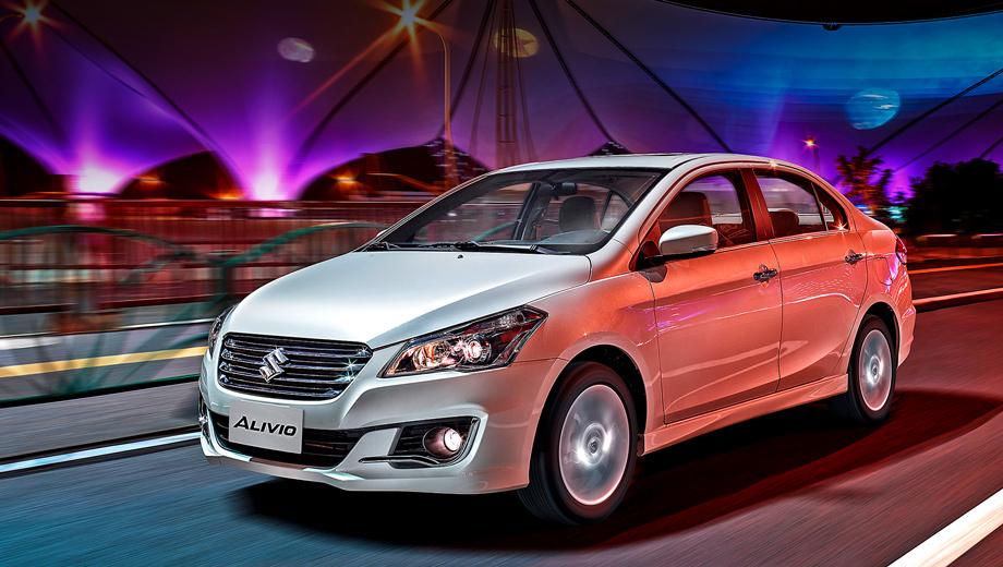 Suzuki alivio. Выпуск четырёхдверки уже налажен на предприятиях Suzuki Maruti в Индии (именно эти машины попадут к нам) и Changan Suzuki в Китае.