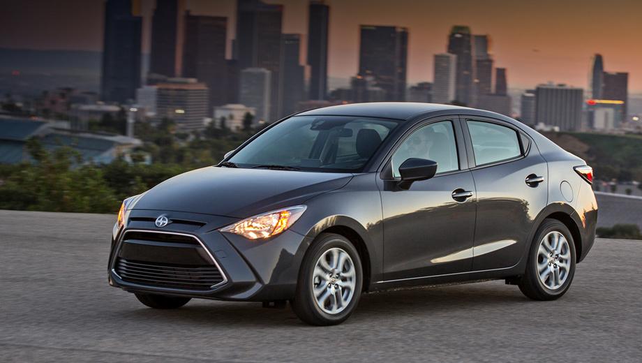 Scion ia,Scion im. Выпуск нового седана Scion iA планируют наладить на заводе Mazda в Мексике.