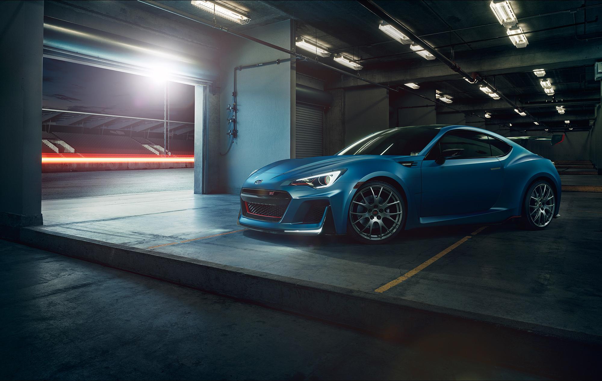 Заряженная Subaru BRZ STi появится в продаже весной