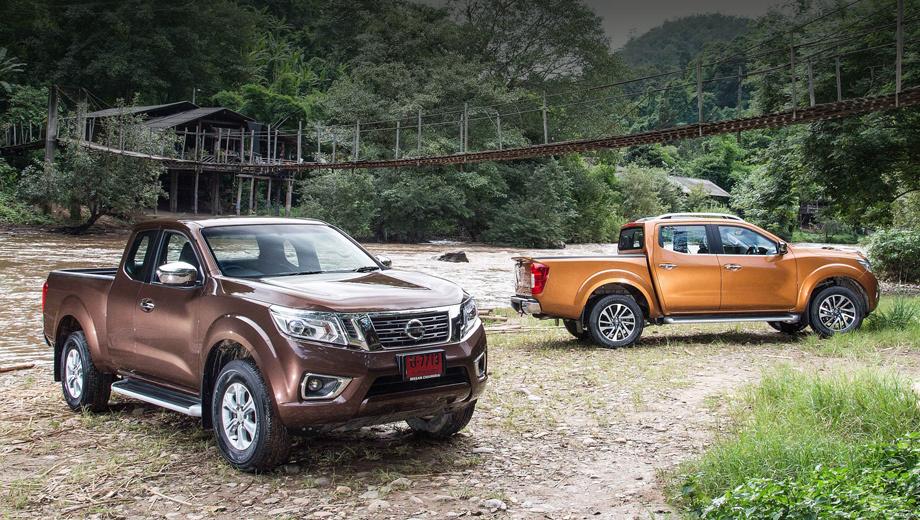 Nissan navara,Renault duster oroch. Модель NP300 выпускается сейчас в Таиланде и Мексике. Есть версии с двойной и одинарной кабиной. У собрата с шильдиком Mercedes будет двойная, а какие будут варианты у Renault — ещё неясно.