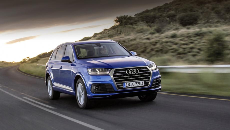 Audi q7. Представитель Valeo не пояснил, с какой модели начнётся внедрение новой технологии. По инсайдерским данным, это будет кроссовер Q7.