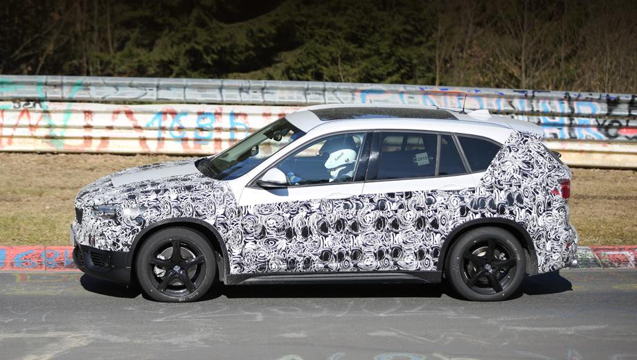 Bmw urban cross. Следующий паркетник BMW X1 будет короче предшественника (у того было 4,45 м от бампера до бампера).