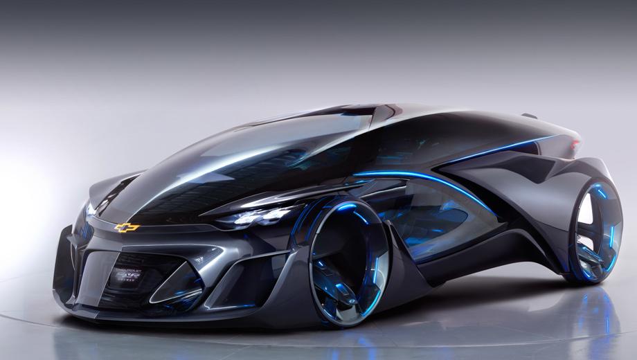 Chevrolet fnr. Заглянем в транспорт будущего — предлагают разработчики FNR. Первыми «заглянуть» смогли посетители автошоу в Шанхае, где и дебютировала новинка.