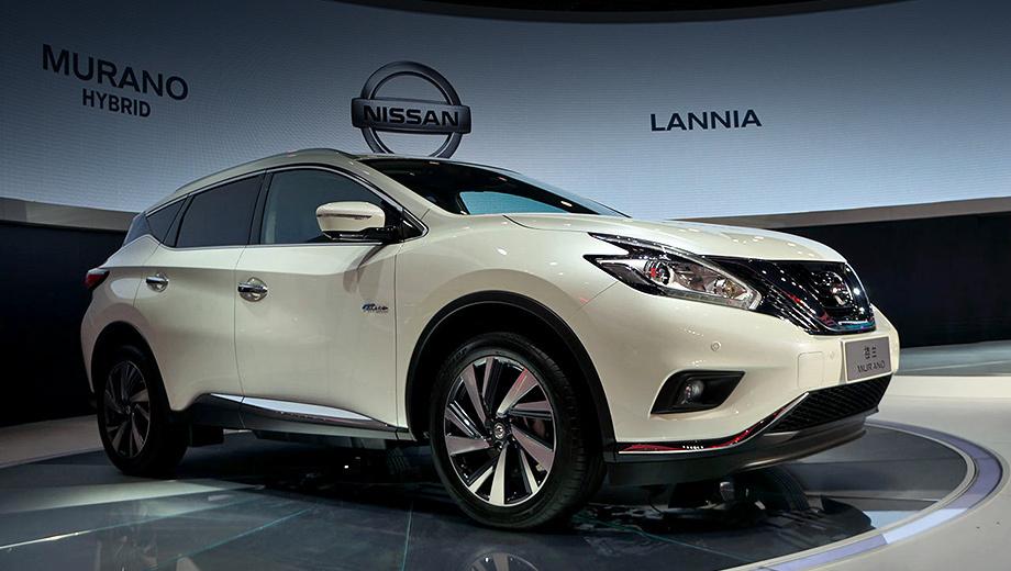 Nissan murano,Nissan murano hybrid. В продажу в Поднебесной новинка поступит летом этого года. Чуть позже должна дебютировать версия, предназначенная для североамериканского рынка.