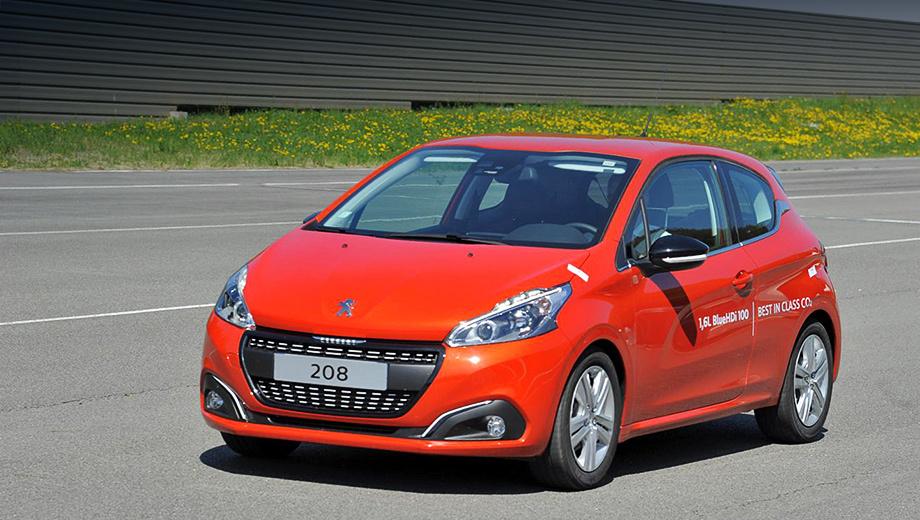 Peugeot 208,Citroen c-zero. «Двести восьмой» преодолел расстояние в 2152 километра и при этом потратил всего 43 литра дизельного топлива.