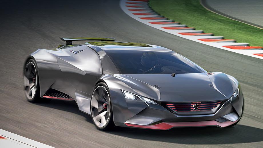 Peugeot vision gran turismo. Вряд ли мы когда-нибудь увидим нечто подобное в серии, но пофантазировать никто не мешает. Тем более что создатели концепта себя явно ни в чём не ограничивали.