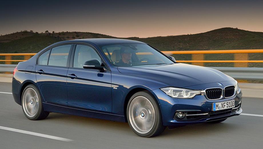 Bmw 3. У «трёшки» теперь есть новый цвет кузова — Mediterranean Blue, который чуть раньше появился на компактвэне Active Tourer. В качестве опции доступна система автоматической параллельной парковки.