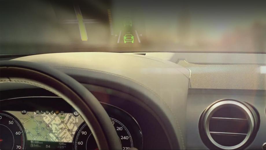 Bentley bentayga. Цветным проекционным дисплеем и настраиваемой цифровой приборкой нынче никого не удивишь. Но в Bentley уверены — важны не только технологии как таковые, но и то, как они преподнесены и оформлены.