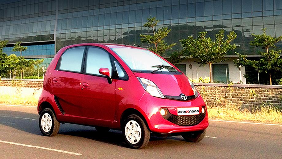 Tata nano. На автомобили с роботизированной коробкой передач устанавливается электроусилитель руля.