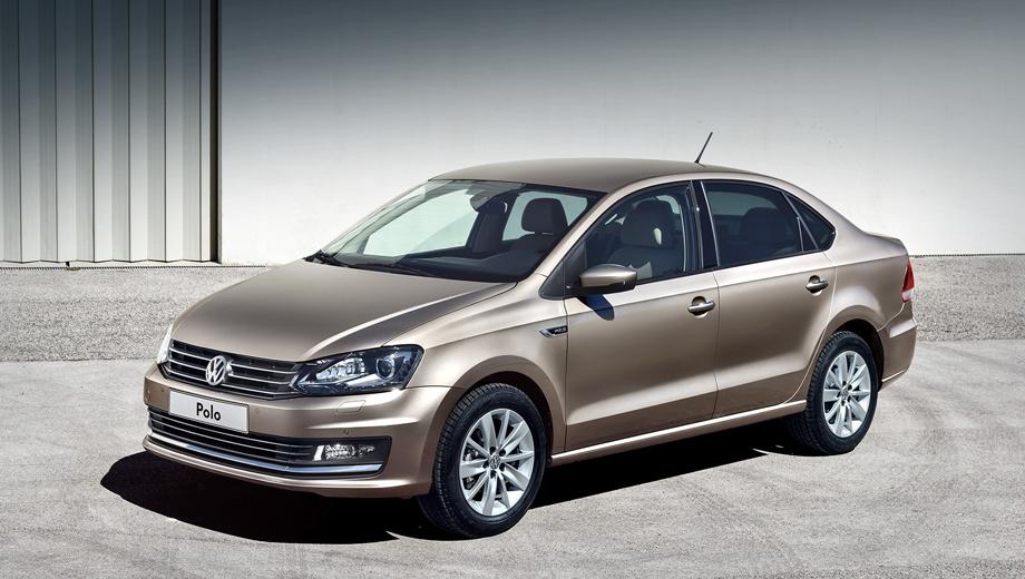 Volkswagen polo. Гамма цветов для окраски кузова пополнилась бежевым «металликом» Titanium. Помимо этого, появились колёсные диски нового дизайна.