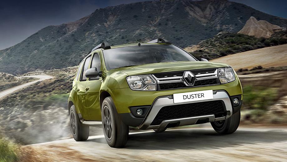 Renault duster. Анфас паркетник преобразился. Как скажутся перемены во внешности на прайс-листе, пока неизвестно. Сейчас самый доступный Duster стоит 534 000 рублей.